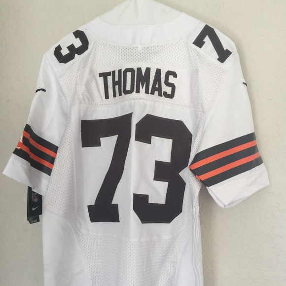 newest 1401a c18d7 Nike Joe Thomas 73 Cleveland Browns Jersey 40 NWT